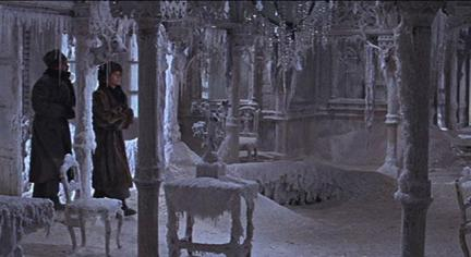Image result for ice palace in doctor zhivago
