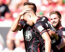 Video: Stuttgart vs Eintracht Frankfurt