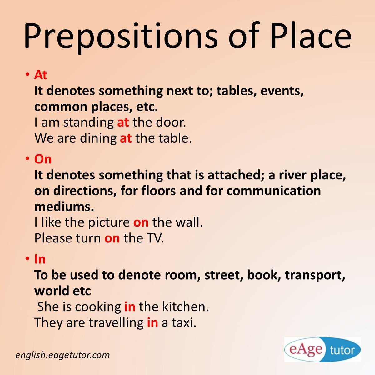 Eage Spoken English On Twitter Prepositions Connect