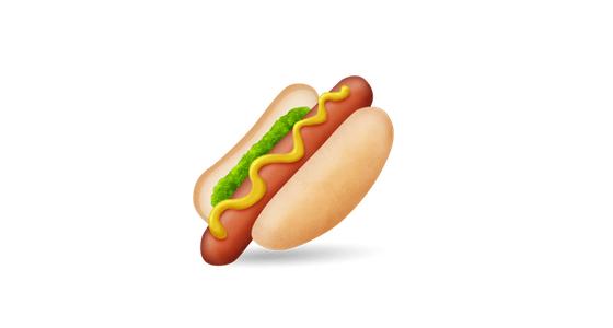 Image result for hotdog emoji