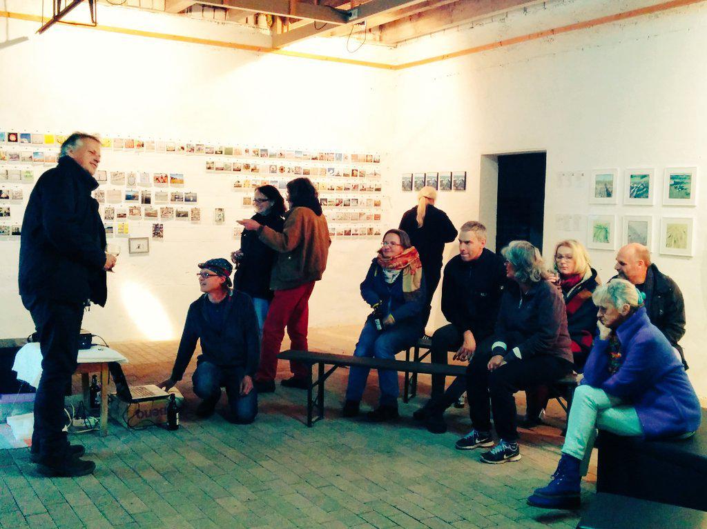 Hagen Grafs Bild vom Publikum beim #Followerfest #AnsKap