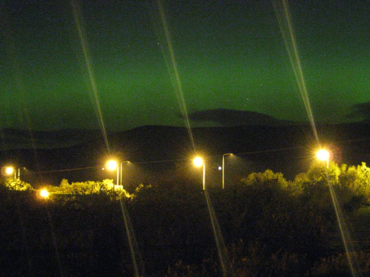 Northern Lights North East England Tonight