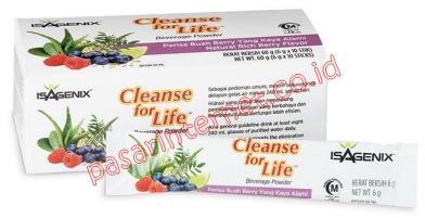 Kandungan Isagenix Cleanse For Life
