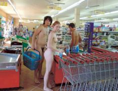 Image result for naked shopping