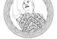Gambar Pahlawan Pattimura Hitam Putih