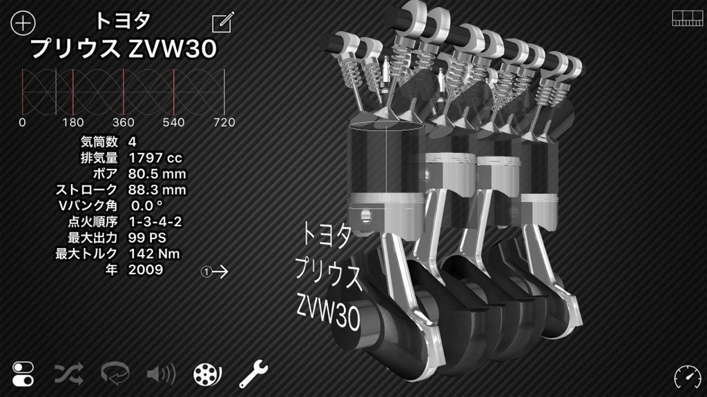 test ツイッターメディア - メーカー:トヨタ 車名:プリウスZVW30 エンジン方式:直列4気筒DOHC エンジン型番:2ZR-FXE 吸気方式:NA https://t.co/ZSZNr4VMSb