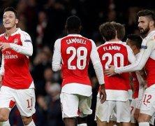 Video: Arsenal vs Dinamo Zagreb