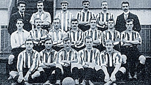 Old picture of Sunderland AFC back in 1908 (Image: Twitter)