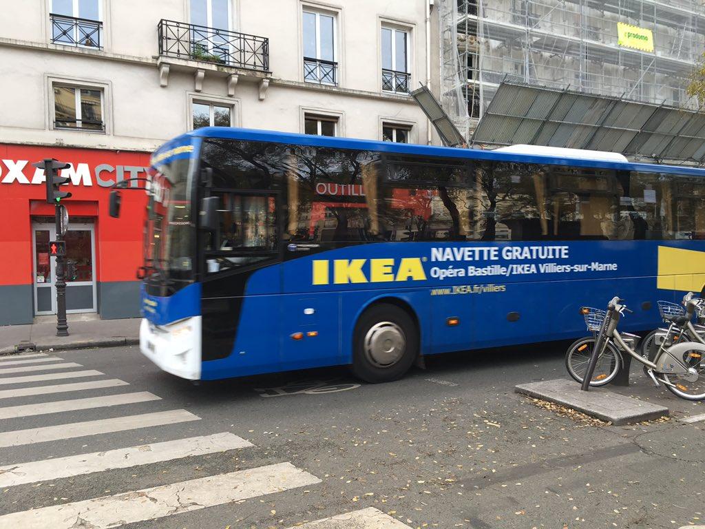 Je Ne Savais Quil Y Avait Des Navettes Gratuites Ikea Dans