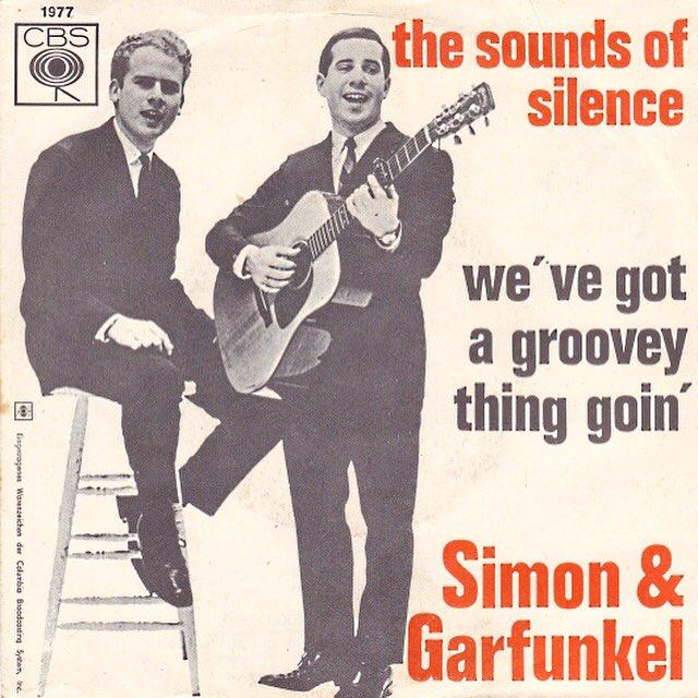 Simon & Garfunkel - The Sound of Silence(1965) 歌詞 lyrics《經典老歌線上聽》