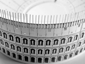 papercraft crafts roman colosseum coliseum rome