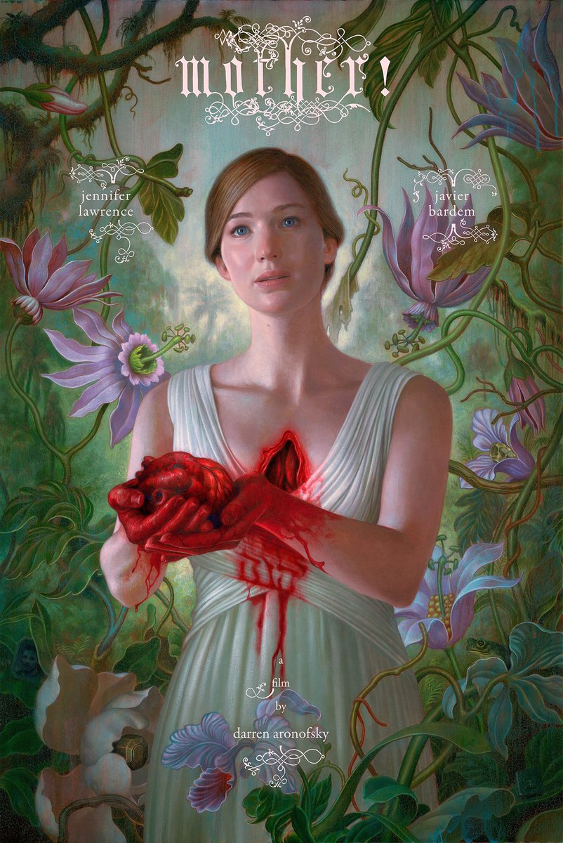 Paramount Pictures' mother! Poster Featuring Jennifer Lawrence