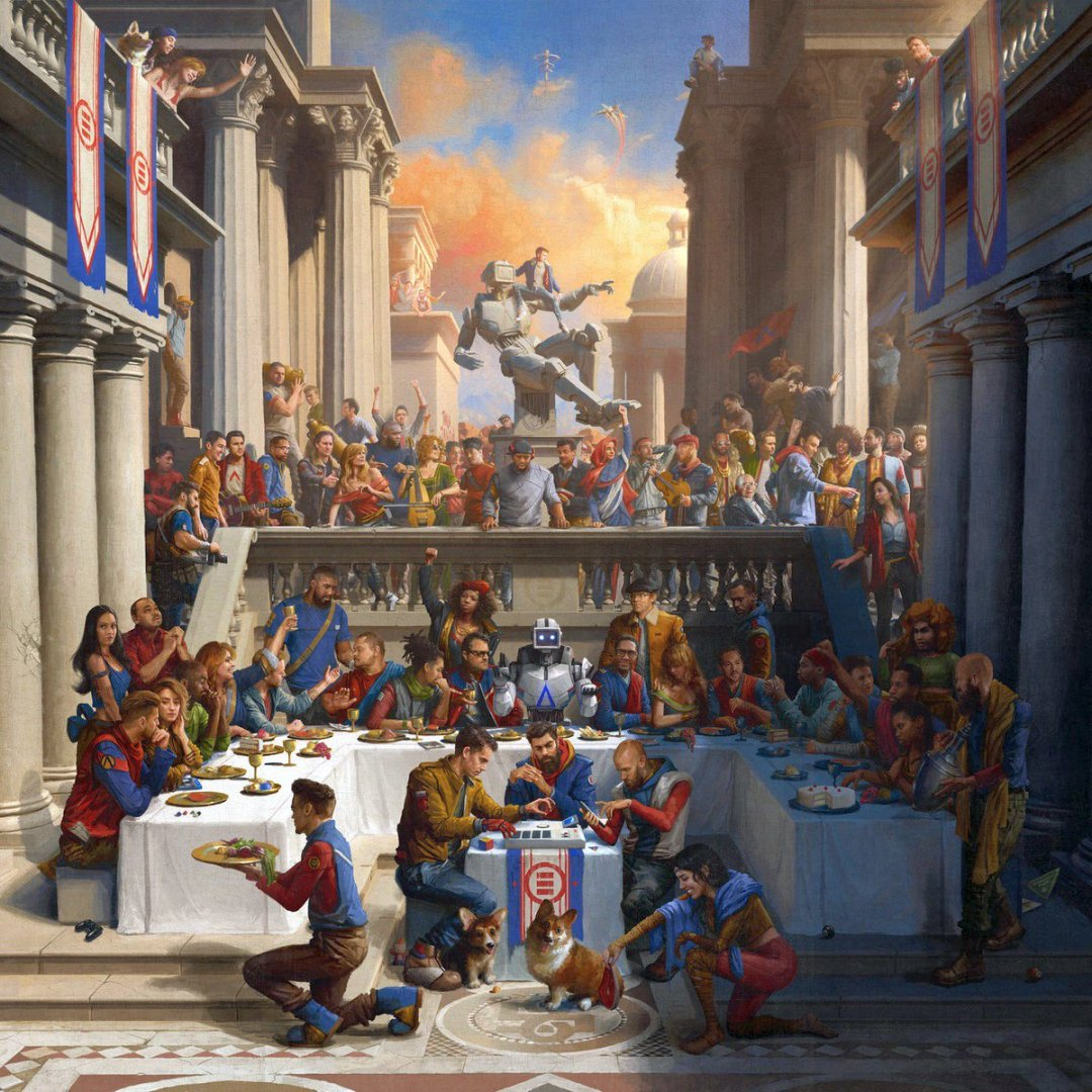 Logic – AfricAryaN Lyrics ft. Neil deGrasse Tyson & J. Cole