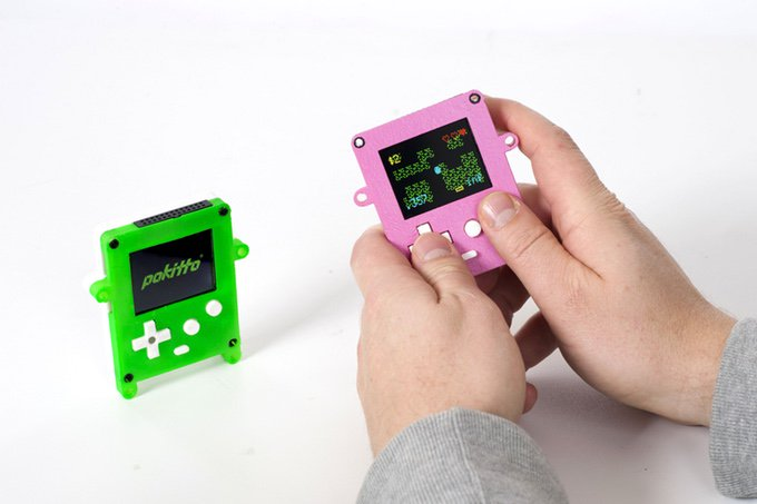 Pokitto is a 32-bit DIY gaming console that teaches how IoT devices work: