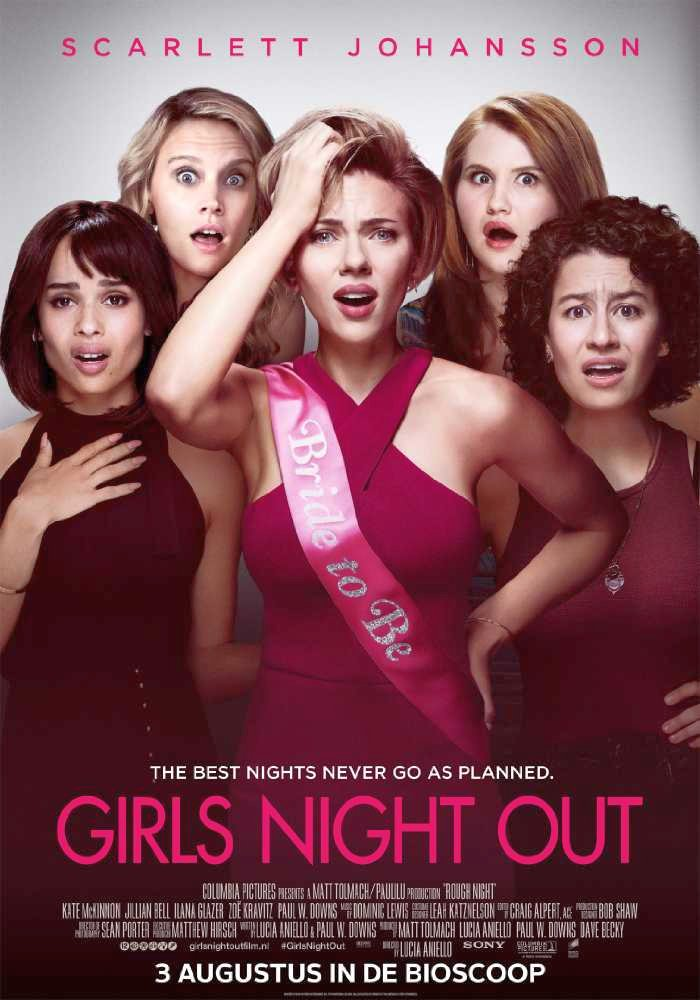 Rough Night International Poster