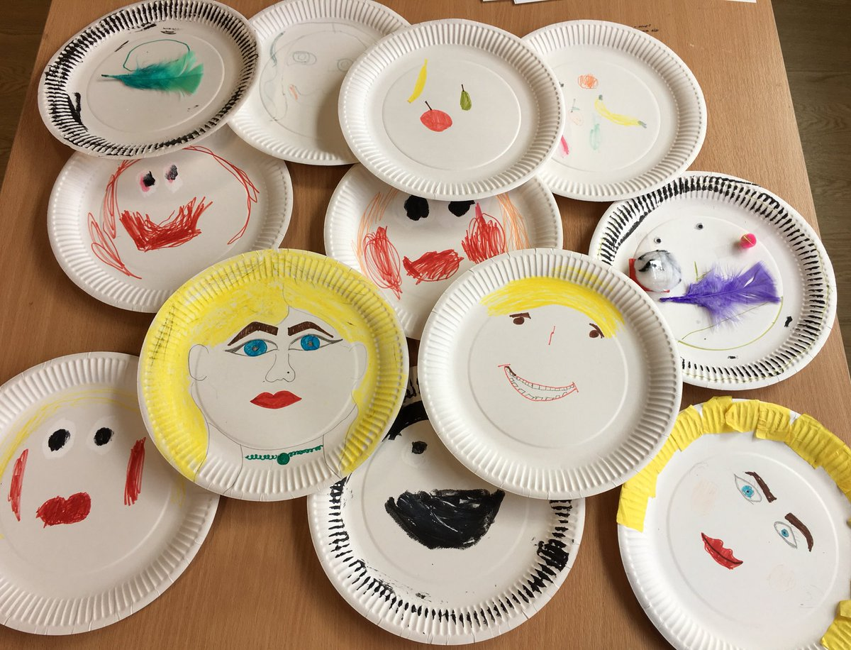 Crazy 4 Kids On Twitter Paper Plate Face Design Amp An