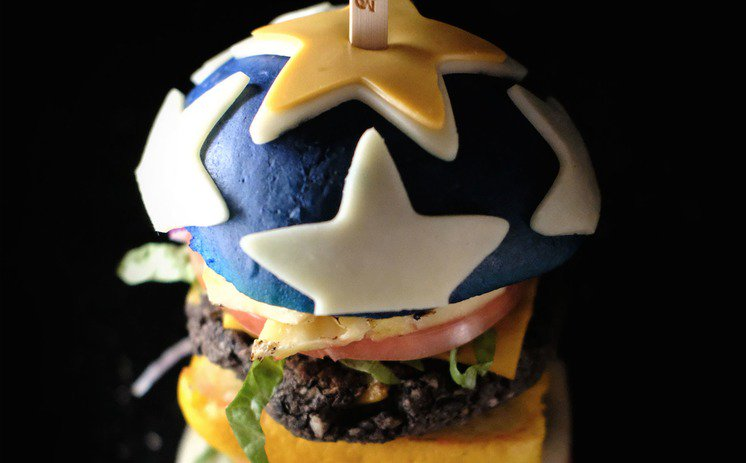 Wonder Woman burger from Tampa captivates the internet with its Amazonian physique: