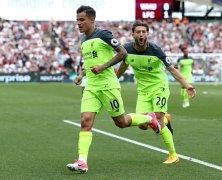 Video: West Ham United vs Liverpool