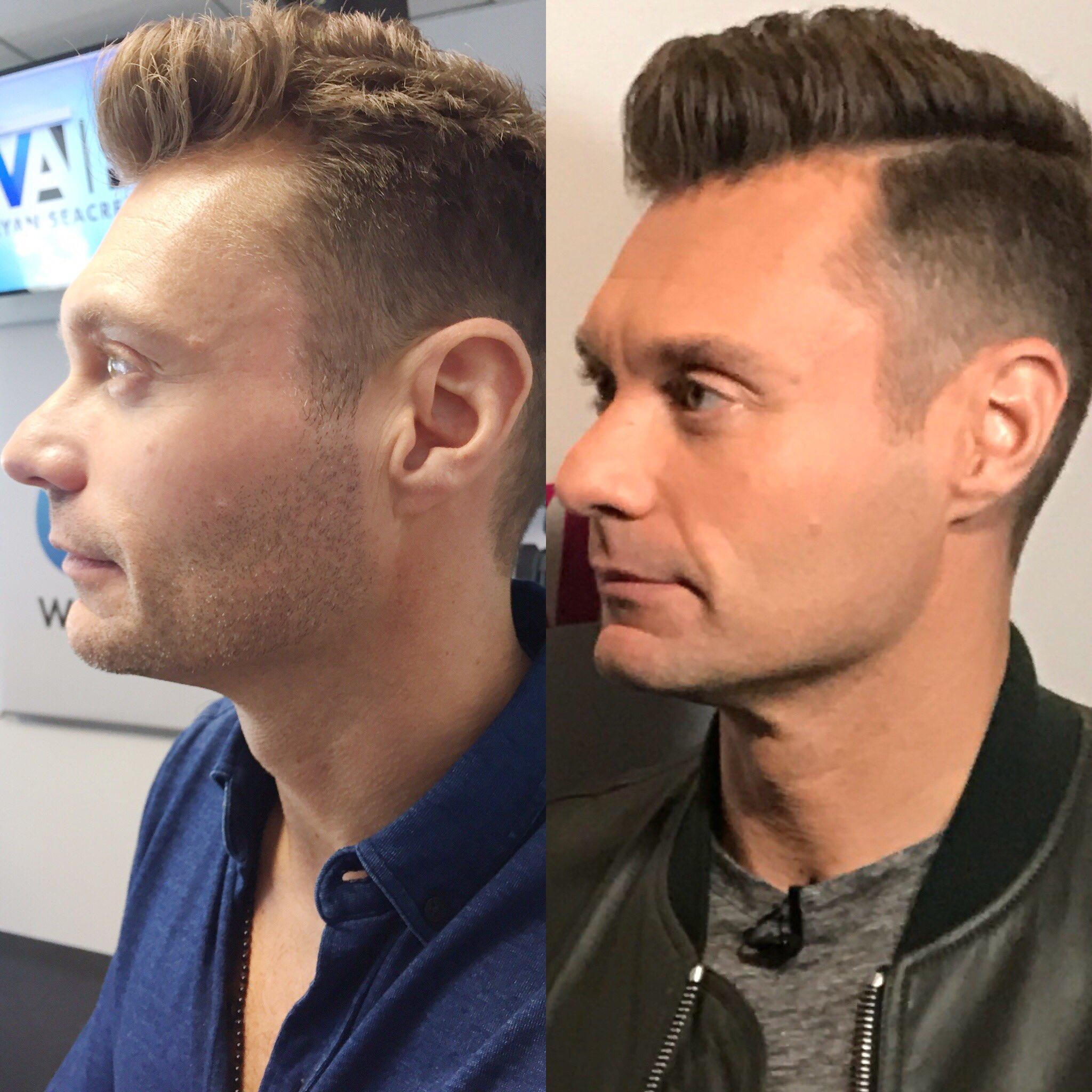 Ryan Seacrest On Twitter Finally Got That Etch Haircut
