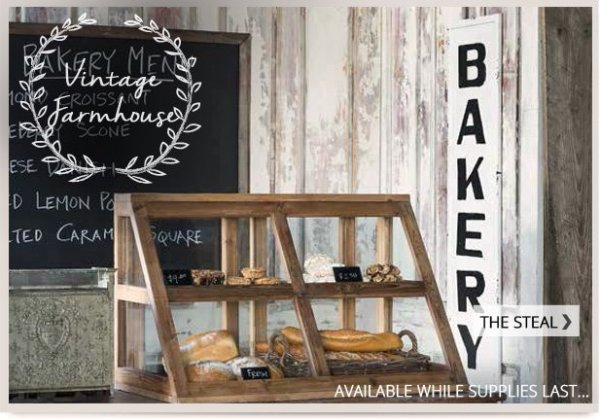 Decor Steals On Twitter Add Farmhouse Charm To Your Kitchen With This Bakery Sign Https T Co Ha2fha0p8z 6vioy2isln