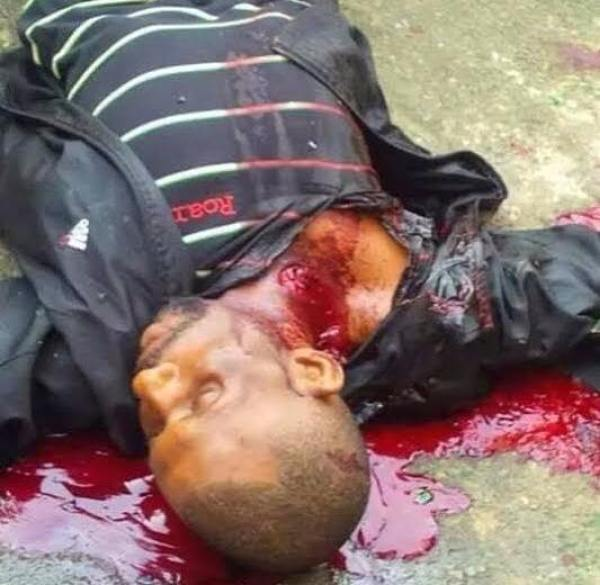 Image result for biafran killing in aba praying ground