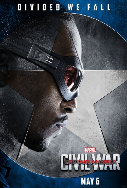 "Captain America: Civil War Character Posters Showcase ""Team Cap"" 4"