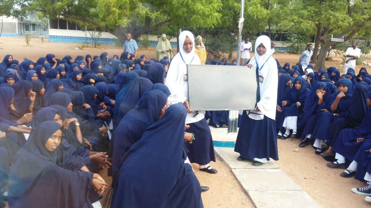 """Hon. Aden Duale, EGH, MP on Twitter: """"Yesterday, the TVset that I promised NEP  Girls in Garissa a week ago, was delivered. https://t.co/1ufOK0XIp9"""""""