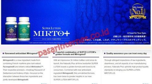 Promo harga murah Super lutein Mirtoplus