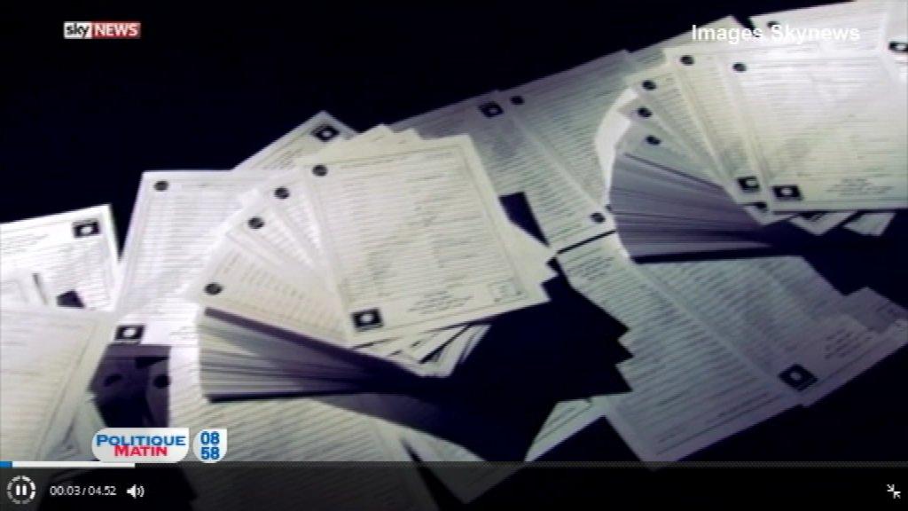 On revient sur le reportage de @SkyNews qui affirme posséder une liste de 22.000 noms de membres de Daech #PolMat