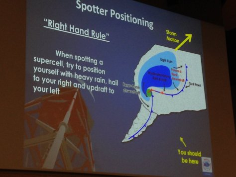 A slide from a presentation that NWS meteorologist Ben Deubelbeiss provided during the 2016 DuPage County Advanced Severe Weather Seminar depicting the