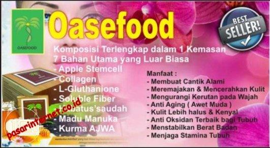 Manfaat dan khasiat oasefood