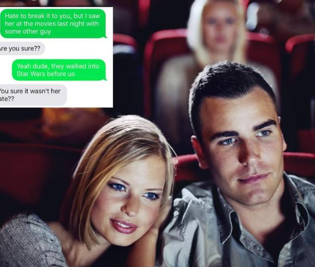 Woman Gets Caught Cheating At The Cinema And Thats Not Even The Worst