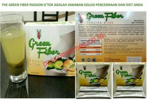 Jual Green Fiber Passion Detox