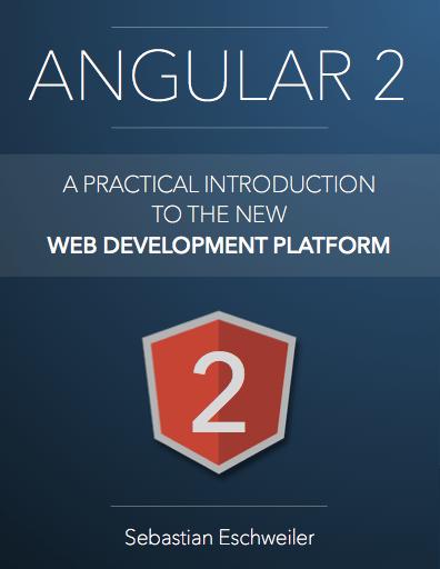 Check out the new #Angular2 book on:  #angularjs #javascript #webdev