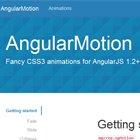 AngularMotion : Fancy CSS3 animations for AngularJS  #angularjs #css