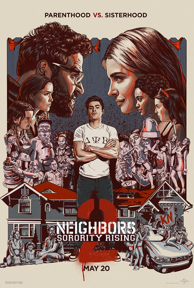 Neighbors 2: Sorority Rising Red Band Trailer 2
