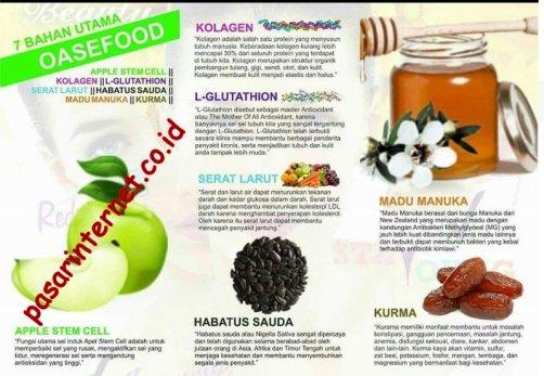 Kandungan dalam Oasefood