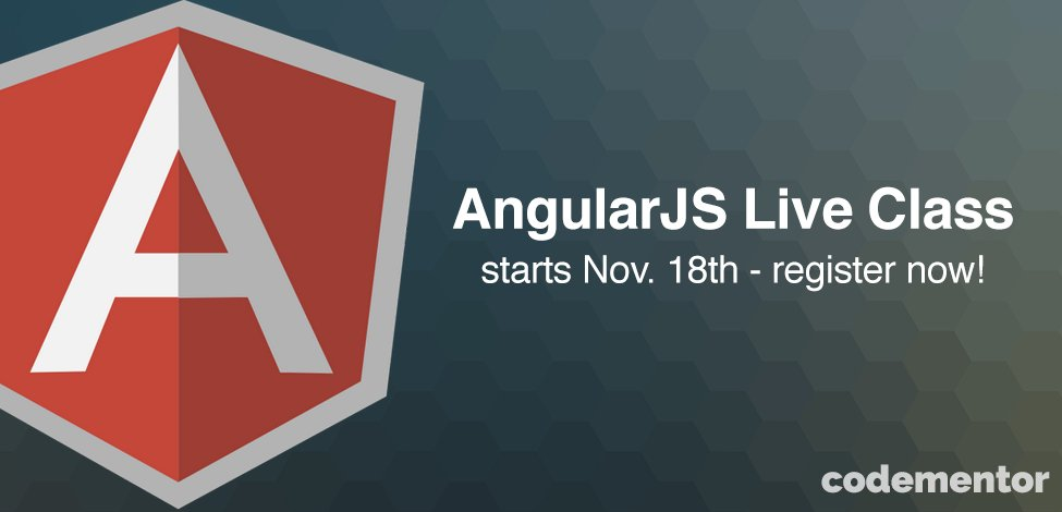 Learn AngularJS with our Live Class! Starting soon — enroll now:  #angularjs #javascript
