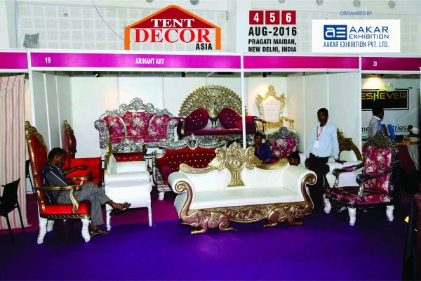 Two Day Tent Decor Expo Begins In Jaipur जयप र म