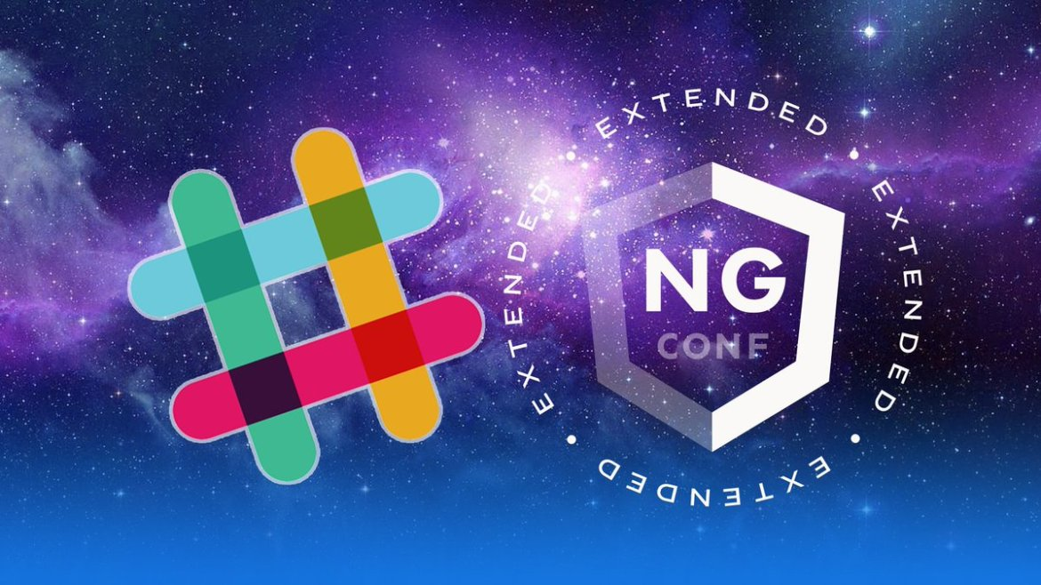 Do you attend some @ngconf extended? Join the party on Slack 🔥   #ngconf #AngularJS