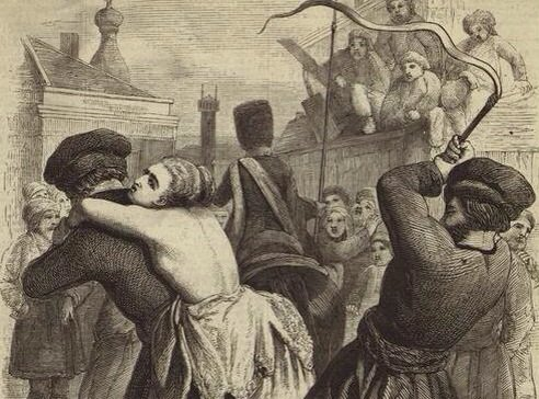 Наказание жены на Руси за измену