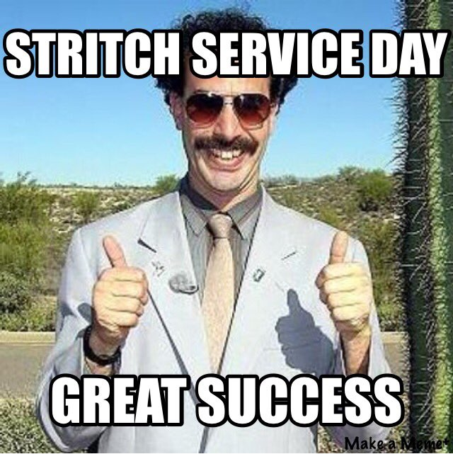Stritchserviceday Hashtag On Twitter