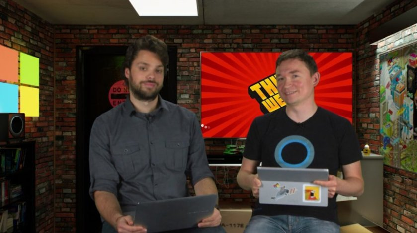 This week's edition of This Week @Ch9: Build / Edge, #VSCode, #ReactNative #UWP, & more...