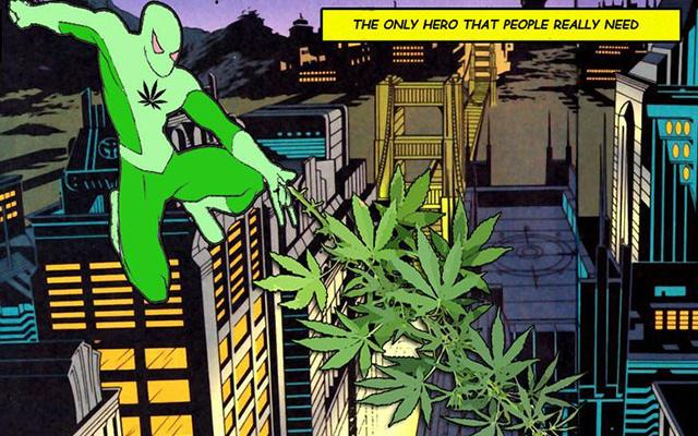 More Bluntman Than Superman? This is For You. Quiz: What's Your Stoner Superpower?