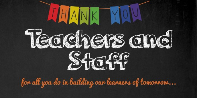 Image result for teacher and staff appreciation week images