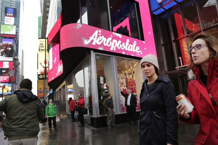 #Aéropostale files for Ch. 11 bankruptcy protection, to close 113 stores  via @TB_Times