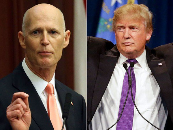 Rumors has it, Florida's Rick Scott & Marco Rubio are on #Trump's shortlist for VP