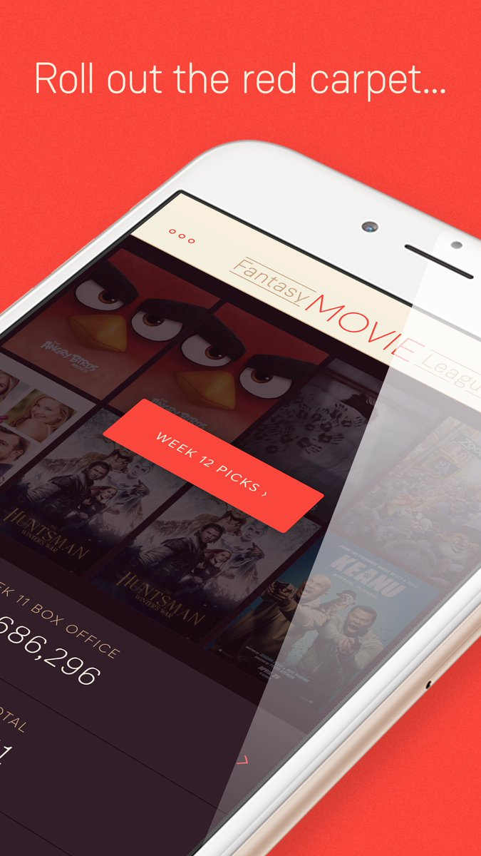 You asked for it & it's finally here! Download the Fantasy Movie League #app for iOS today!