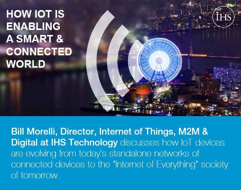 How is #IoT enabling a SMART and connected world? Complimentary webinar playback. View now