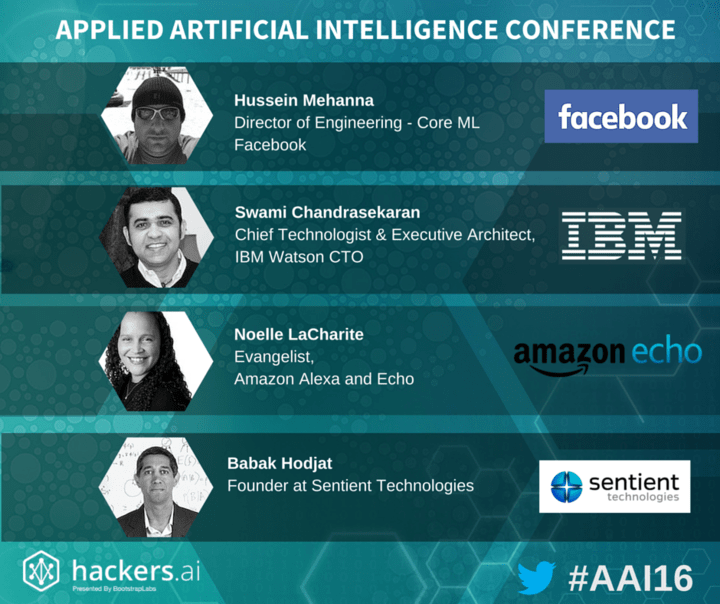 Applied AI Conference by @bootstraplabs - Use AAI20 for 20% off here: